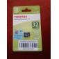 Toshiba 32gb Classe 10 cartões de memória microSDHC UHS-I originais com adaptador SD r: 40mb / s