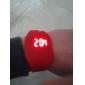 Relógio de Pulso Unissex Digital com Pulseira de Borracha e LED (Cores Variadas)