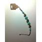 lureme®vintage богемный стиль бирюзовый цветок браслет