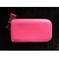 lichia grão cor sólida caso bolsa de couro pu com cordão para iphone 6 / 6s (cores sortidas)