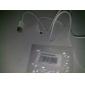 흰색의 USB 삼성 및 기타 스마트 폰 (1M)를위한 마이크로 USB 남성 케이블에 남성