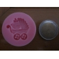 1pcs Baby Carriage Shower Party Silicone Mold Soap