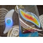 Велосипедные фары / колесные огни LED Велоспорт солнечные батареи Люмен Батарея Велосипедный спорт-Освещение