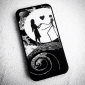Nightmare Before Christmas Pattern Plastic Hard Case for iPhone 4/4S