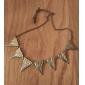 Восстановление древних путей преувеличена Треугольная Металл Длинный свитер Сеть
