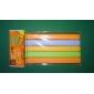 πλαστικό χρώμα καραμέλας κλιπ σφράγισης (5pcs, τυχαία χρώμα)