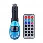 coche color azul Reproductor de MP3 con transmisor FM
