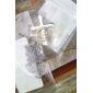 унисекса 1мм рябь воды серебряная цепь ожерелье No.10