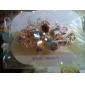barrettes de diamants de la mode cinq feuilles fleurs de cheveux pour les femmes (bleu violet et plus) (1 pc)