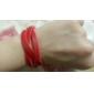 Женский Кожаные браслеты Уникальный дизайн Мода Кожа Бижутерия Бижутерия Для Для вечеринок Повседневные 1шт