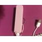 batteria esterna banca portatile di potere universale per iphone 6/6 più / 5 / 5s / samsung s4 / s5 / nota 2 (2600 mAh)