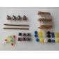 универсальные углерода Resisters + поворотные потенциометры комплект деталей для Arduino