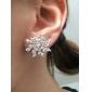 Stud Earrings Zircon Simulated Diamond Alloy Fashion Jewelry Daily