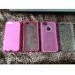 Pour Coque iPhone 5 Antichoc Dépoli Translucide Coque Coque Arrière Coque Couleur Pleine Dur Polycarbonate pour iPhone SE/5s/5