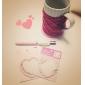 σημείωση λουλούδι κέικ μοτίβο καρδιά αυτοκόλλητων (τυχαία χρώμα)