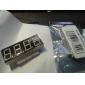 4 Digit 3.5-30V voltímetro Stm8s003 Master Control Two Lines Blue LED Digital