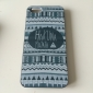 Black-and-white Style Pattern Hard Case Cover for iPhone 5/5S