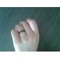 Shixin® Classic Flower Shape Alloy Band Ring(1 Pc)