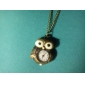 Unisex Owl Style Alloy Analog Quartz Keychain Necklace Watch (Bronze) Cool Watches Unique Watches