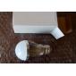 5W E26/E27 Ampoules Globe LED A50 15 SMD 5630 360 lm Blanc Naturel AC 100-240 V