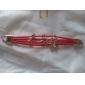 Femme Charmes pour Bracelets Gemme Alliage Original Mode Forme de Coeur Bijoux Jaune Rouge Rose Rouge Vert Bleu Bijoux 1pc