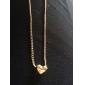 Ожерелья с подвесками Сплав В форме сердца Сердце Бижутерия Для вечеринок Повседневные