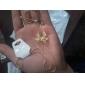 Сладкий (бантом подвеска) Золото сплава ожерелье (золото) (1 шт)