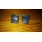 R / L Dupla Triggers Enhancement antiderrapante para ps3 controlador (preto)