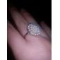 Anéis Casamento / Pesta Jóias Liga Feminino Anéis Statement8 Dourado