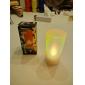 elfenben slag på off batteri vokslys lys (ceg207)