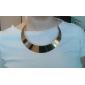 Femme Collier court /Ras-du-cou Alliage Mode Simple Style bijoux de fantaisie Bijoux Pour Soirée Quotidien