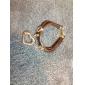 Femme Bracelets Cuir Alliage Mode Amour Bijoux