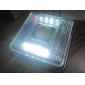 8 LED 2 모드 하얀 빛 적외선 센서 동작이 활성화 LED 램프 (2xaa)