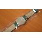Mulheres Relógio de Moda Quartzo PU Banda Flor Preta Branco Azul Verde Branco Preto Verde Azul