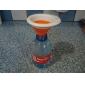 кухня кулинария выдвижной силикона воронка (случайный цвет)