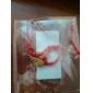 Китайский Красные листья Символ мира и процветания для классический красный канат браслет