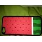 아이폰 5C에 대한 수박 패턴 하드 케이스