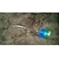 мерцание шпилька оптическое волокно дизайн пластиковых ночник (1шт, случайный цвет)