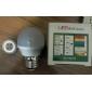 3W E26/E27 Lâmpada Redonda LED G45 8 SMD 2835 280-300 lm Branco Quente Decorativa AC 100-240 V