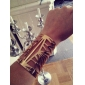 Shixin® Gold Tone Elegant Hollow Bangle Bracelets Jewelry
