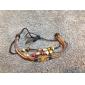 Femme Charmes pour Bracelets Bracelets en cuir Cuir Coquillage Original Mode Bijoux Marron Bijoux 1pc