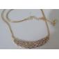 Z&X® Full of twist drill ShanZuan dress short necklace