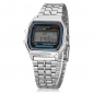 Women's Watch Dress Watch Multi-Function Square Digital LCD Dial Alloy Band