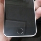 Stylish Silver Button Círculo Início Etiqueta para iPhone 4/4S (cores sortidas)