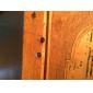 8 milímetros cruzadas Sign Brincos Stud aço inoxidável