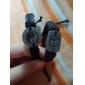 Lureme Chinese Tai JiCharm Leather Braided Bracelet Jewelry Christmas Gifts