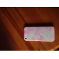 Classic Silk Print Design with Fluorescent Light Plastic Hard Case for iPhone 5/5S