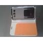 Для Кейс для  Samsung Galaxy Бумажник для карт / со стендом / Флип Кейс для Чехол Кейс для Один цвет Искусственная кожа Samsung Win