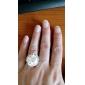 Кольца Регулируется Бижутерия Стерлинговое серебро Массивные кольцаРегулируется Серебряный