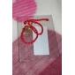 Китай Красный классический красный канат браслет топор подвеска с китайскими иероглифами «Счастье»